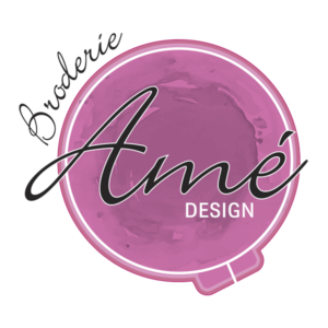 logo transparent - Broderie Amé Design