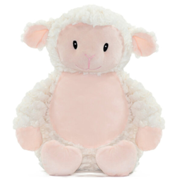 Biscotte - mouton agneau peluche à broder et personnaliser - Boutique | Broderie Amé Design