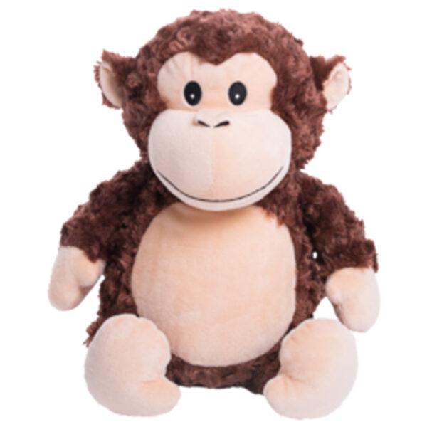 Bongo - singe peluche à broder et personnaliser - Boutique   Broderie Amé Design
