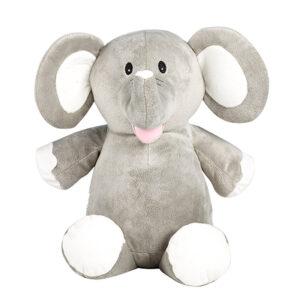 Babar - éléphant gris peluche à broder et personnaliser - Boutique | Broderie Amé Design