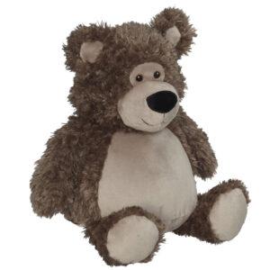 Balou - ourson brun peluche à broder et personnaliser - Boutique | Broderie Amé Design