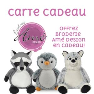 carte-cadeau - broderie Amé Design