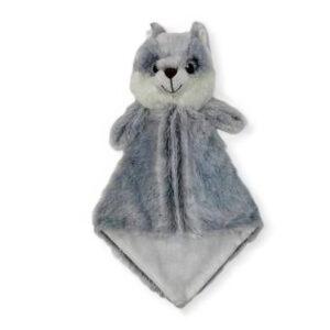 Ti-Loup le loup - doudou à broder et personnaliser | Broderie Amé Design
