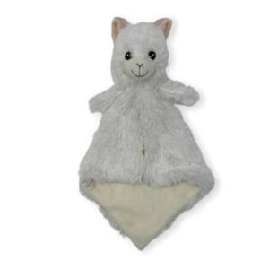 Dolly le lama - Petite doudou à broder et personnaliser | Broderie Amé Design