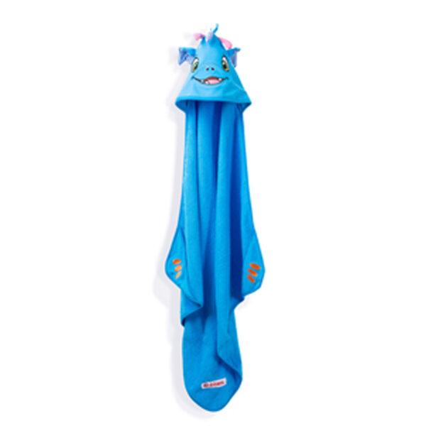 dragon serviette suspendue - serviette à broder et personnaliser - Broderie Amé Design