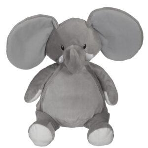Dumbo - éléphant gris peluche à broder et personnaliser - Boutique | Broderie Amé Design