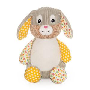 Clover le lapin - peluche à broder et personnaliser   Broderie Amé Design