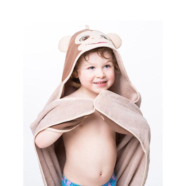 Serviette singe - serviette à broder et personnaliser | Broderie Amé Design