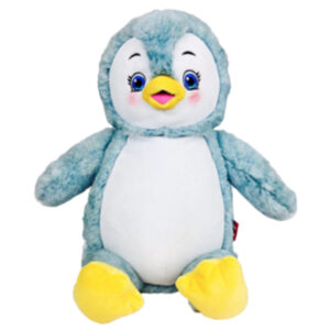 Petits Pieds - pingouin peluche à broder et personnaliser - Boutique | Broderie Amé Design