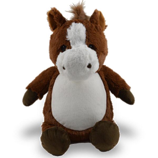 Pistache - cheval brun peluche à broder et personnaliser - Boutique | Broderie Amé Design