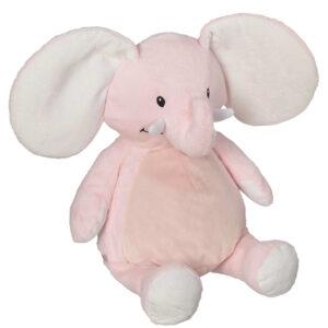 Rosie - éléphant rose peluche à broder et personnaliser - Boutique | Broderie Amé Design