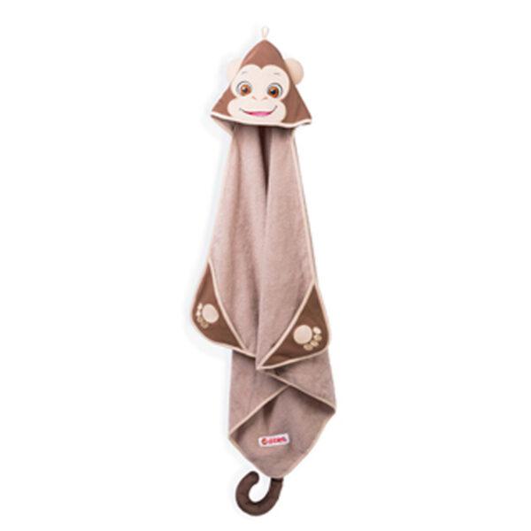 singe serviette pleine grandeur - serviette à broder et personnaliser - Broderie Amé Design
