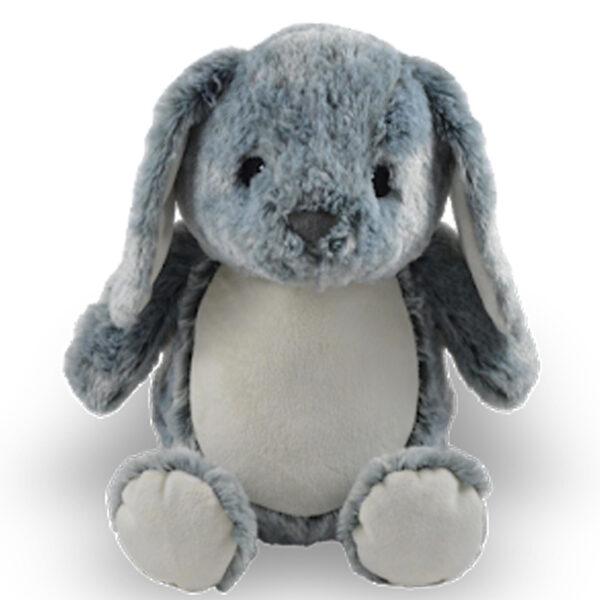 lucas le lapin gris - peluche à broder et personnaliser | Broderie Amé Design