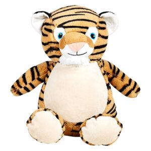 méo le tigre - peluche à broder et personnaliser | Broderie Amé Design