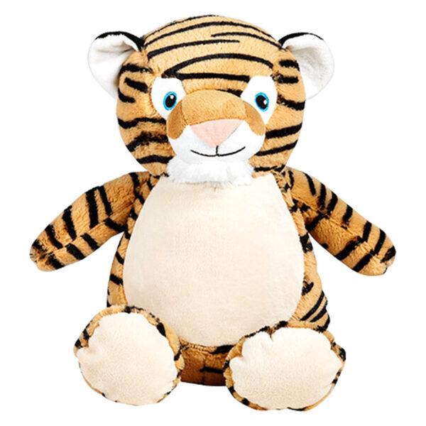 méo le tigre - peluche à broder et personnaliser   Broderie Amé Design
