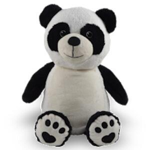 pascal le panda - peluche à broder et personnaliser | Broderie Amé Design