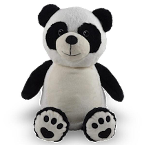 pascal le panda - peluche à broder et personnaliser   Broderie Amé Design