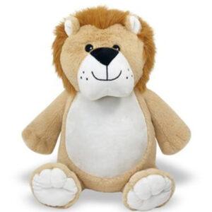 Griffon le lion - peluche à broder et personnaliser | Broderie Amé Design