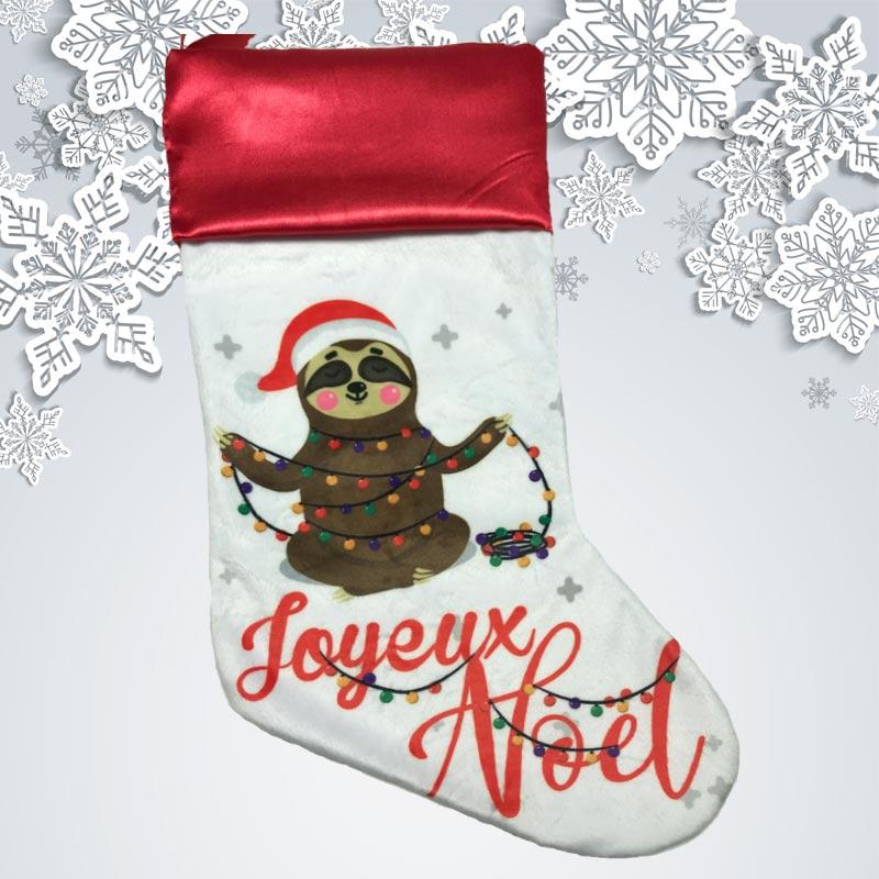 personnaliser couleurs//texte! Brodé Baby/'s Santa Claus Bib-Ajouter tout nom
