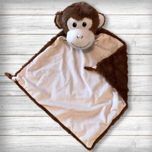 Bubbles le singe - Doudou à broder et personnaliser | Broderie Amé Design
