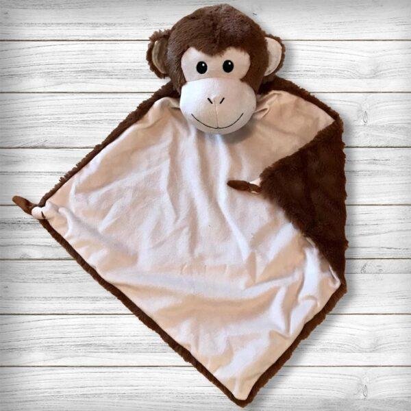 Bubbles le singe - Doudou à broder et personnaliser   Broderie Amé Design