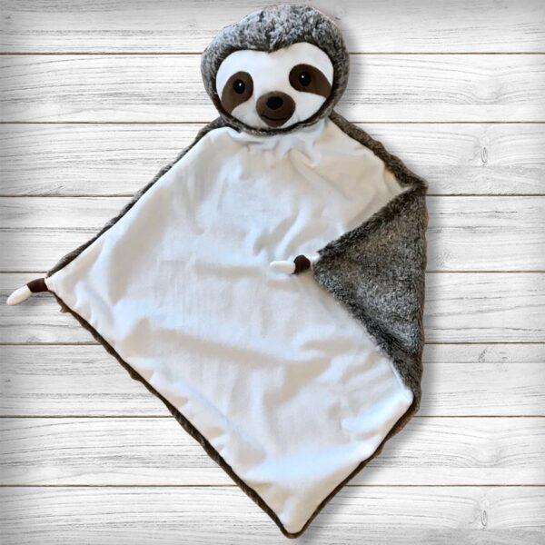 Flash le paresseux - Doudou à broder et personnaliser | Broderie Amé Design