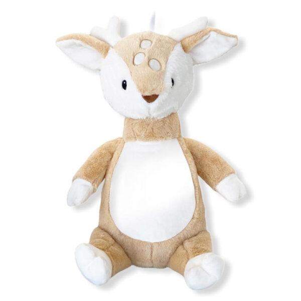Peluche à broder et personnaliser | Toutou Bambi le chevreuil | Broderie Amé Design