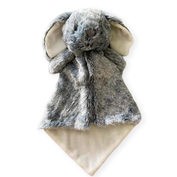 Doudou à broder et personnaliser   Lucas le lapin   Broderie Amé Design