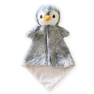 Doudou à broder et personnaliser | Rico le pingouin | Broderie Amé Design