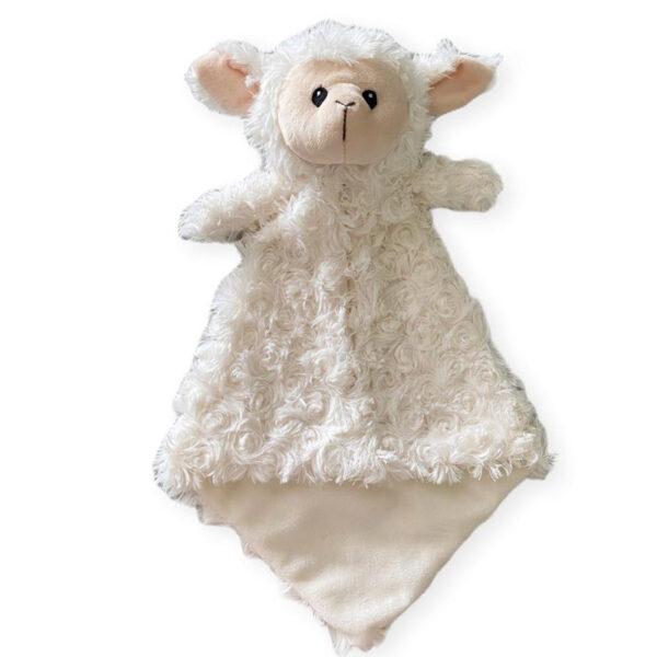 Doudou à broder et personnaliser | Rikiki le mouton | Broderie Amé Design