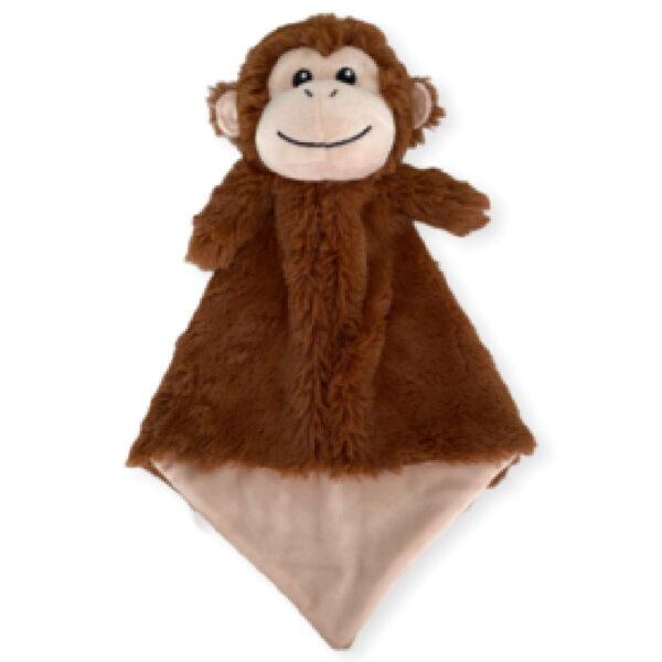 Bubbles le singe - petite doudou à broder et personnaliser   Broderie Amé Design