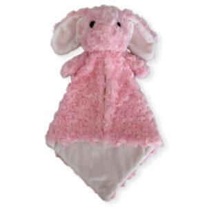 Pinky la lapine - petite doudou à broder et personnaliser | Broderie Amé Design