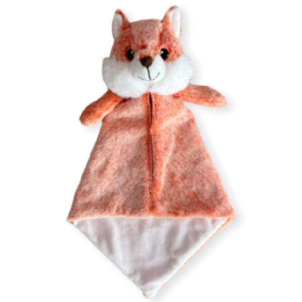 Rocky le renard - Petite doudou à broder et personnaliser | Broderie Amé Design