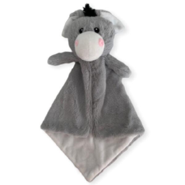 Tro-tro l'âne - petite doudou à broder et personnaliser   Broderie Amé Design