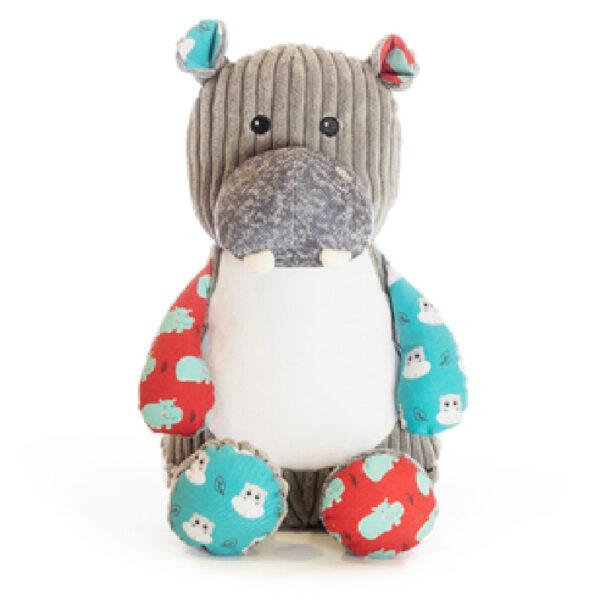 Hipopo l'hippopotame - peluche à broder et personnaliser | Broderie Amé Design