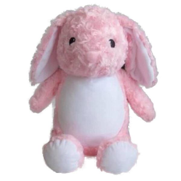 Pinky la lapine - peluche à broder et personnaliser   Broderie Amé Design