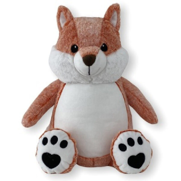 Rocky le renard - nouvelle version - Peluche à broder et personnaliser | Broderie Amé Design