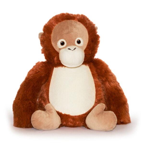 Louie l'orang-outan - peluche à broder et personnaliser | Broderie Amé Design