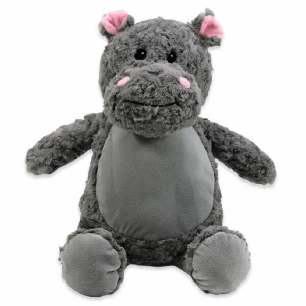 Gloria l'Hippopotame - peluche à broder et personnaliser | Broderie Amé Design