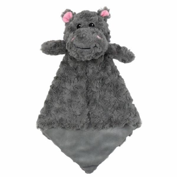 Gloria l'Hippopotame - petite doudou à broder et personnaliser | Broderie Amé Design